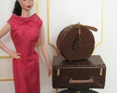 LATER ALLIGATOR suitcase and traincase for Barbie and similar size dolls