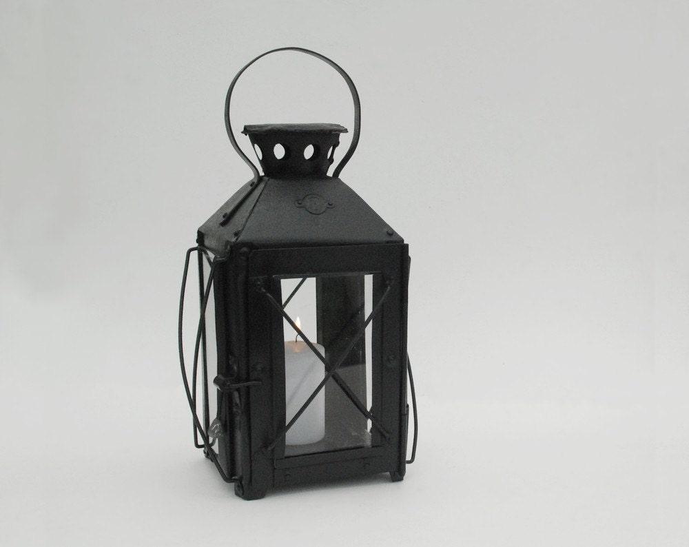 ancienne grande lanterne bougie xix me par frenchtouchboutique. Black Bedroom Furniture Sets. Home Design Ideas