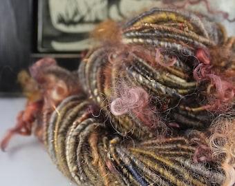 Handspun Art Yarn Corespun Sheeping Beauties  'Layers'