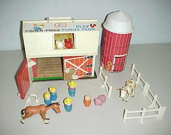 1967 Fisher Price Family Play Farm