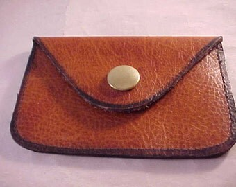 Brown Leather Coin Purse