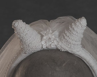 Devil Bride Horned Headband