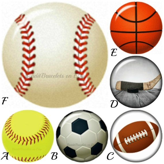 Mini Snap Charms for Petite Ginger snaps Jewelry. Baseball snap,football snap, soccer snap. Compatible with all brands of mini snap jewelry.