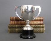 Vintage Sporting Trophy  - 1966 Silver Plate Trophy - Silver Plate Loving Cup from England - Vintage Trophy