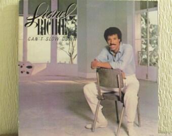 Lionel Richie vinyl  - Cant slow down - Original - Vintage VInyl Lp in NM Condition