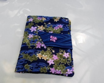 Blue Floral Paperwhite/Kindle Touch Cover