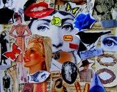Ephemera. Ephemera pack. Collage, decoupage, scrapbooking, whatever. Gift for artists. Ephemera Pack No 15.