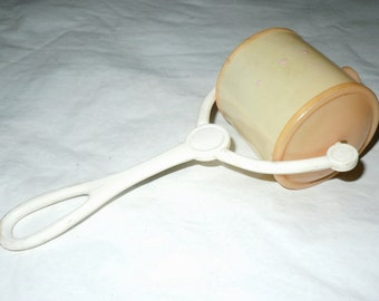 Vintage celluloid Baby Rattle