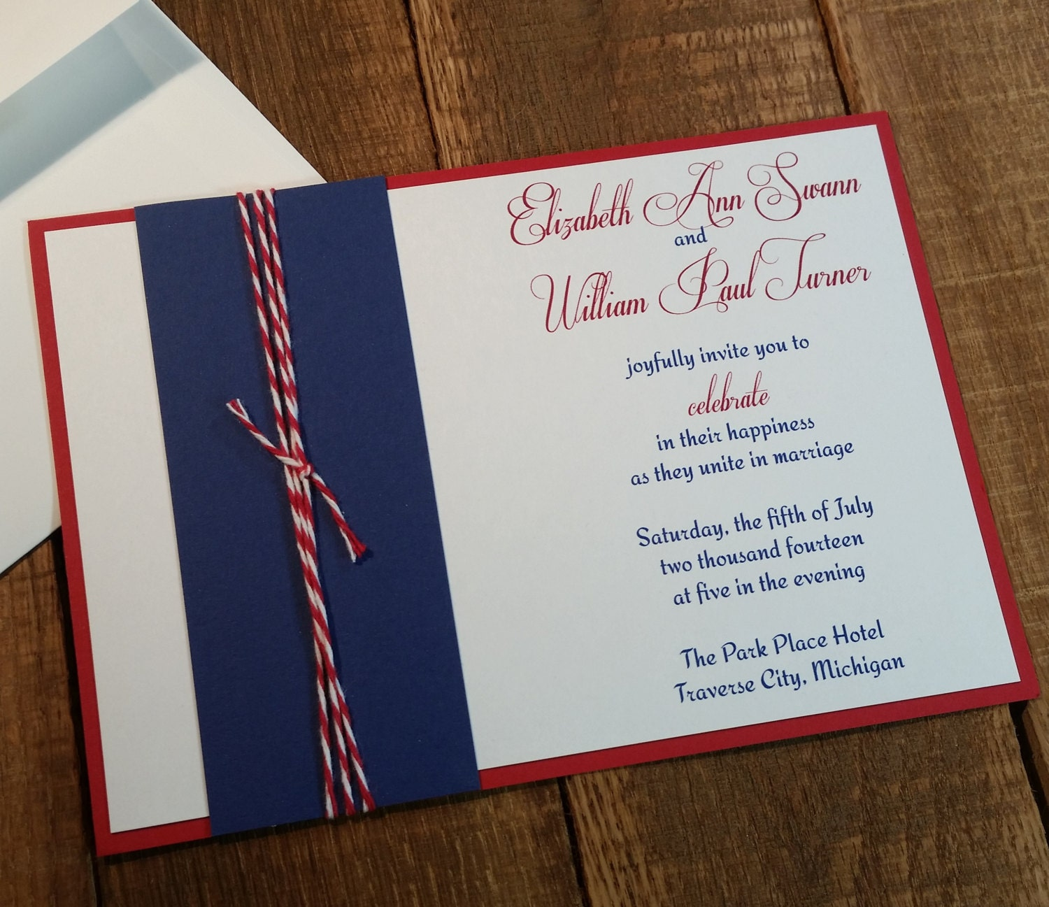 patriotic wedding invitations - Wedding Decor Ideas