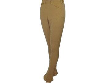 26x31 Vintage 1940s Women's Riding Pants, Equestrian Pants, Side Zipper