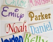 Name Decal - Name Sticker - Personalized Decal - 1 Vinyl Name Decal - Small Vinyl Decal - Vinyl Decal