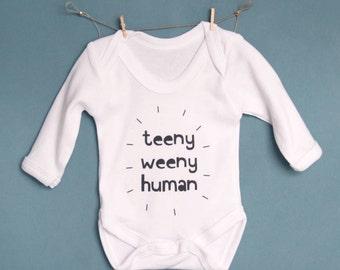 Teeny Weeny Human Baby Vest