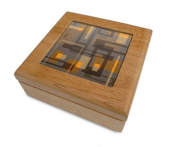 Decorative Keepsake Box: Keepsake Box Memory Box Treasure Box Wooden Box By