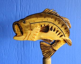 Bass Largemouth Paper Towel Holder, Freshwater Fishing, Largemouth Bass, Paper Towel Holder, Bass Holder
