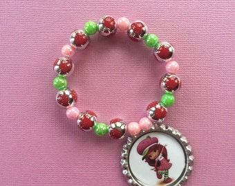 Strawberry Shortcake Stretch Bracelets Set of 6