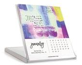 2017 Desk Calendar with Stand, Desk Calendar, Desk Calendar with Stand, 2017 Desk Calendar