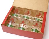 Vintage Budweiser Crested Barrel Tumblers In Box Set of Six