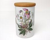 Vintage Portmeirion Botanic Garden Storage Jar & Lid