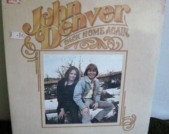 "Vintage John Denver Album ""Back Home Again"", RCA CPL1-0548 0695 Still Sealed Circa 1974"