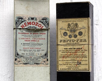 Antique French Medical Boxes