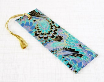 Fabric Bookmark Tassel Bookmark Book Accessory Swirl Bookmark Book Lover Reader Gift Book Worm Book Bling Teacher Gift Reading Tool