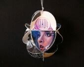 Stevie Nicks Album Cover Ornament Made Of Record Jackets - Fleetwood Mac