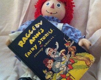 SALE  Raggedy ann book and doll