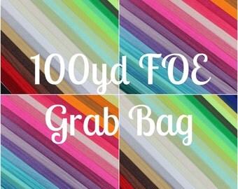 100yd FOE Satin Elastic Grab Bag