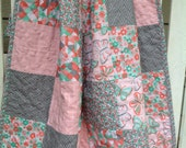 Butterfly Baby Girl Quilt