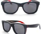 Sale - 50% off black Friday  WALKER2012 skateboard wood Prescription RX handmade Glare polarized sunglasses