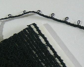 1 yard - millinery loop - button loop