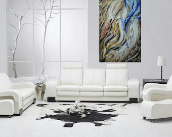 Daydream -24x36 -Acrylic Contemporary Painting by Abstract Artist Kami Kinnison