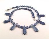 Kyanite & Sterling Silver Necklace - N105C