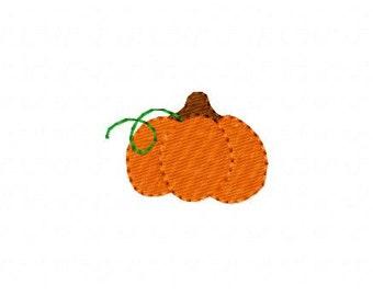 Pumpkin Vine Fall Harvest Halloween Thanksgiving Machine Embroidery Design Joyful Stitches // Joyful Stitches
