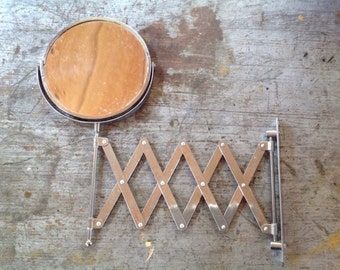 Vintage Extending Swivel Mirror