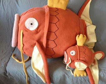Pokemon Magikarp Pattern - Gold Magikarp Pattern - Life-Size Pokemon - Crochet Gifts - Cosplay