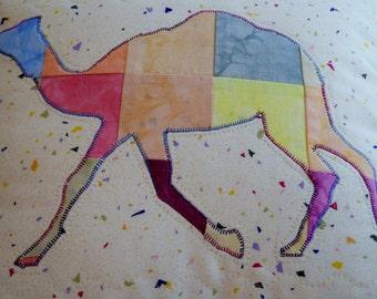 Custom Camel Circus or Zoo Wall Hanging