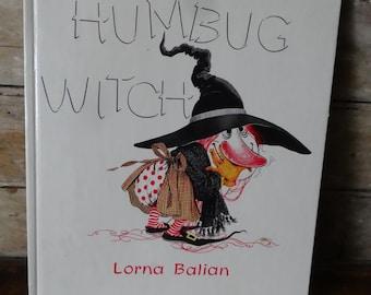 Vintage Halloween Book Humbug Witch 1987