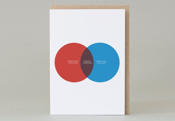 Dyslexic Christians (card)