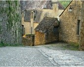 """Fine Art Color Travel Photography of France - """"Down the Lane in Beynac 5"""