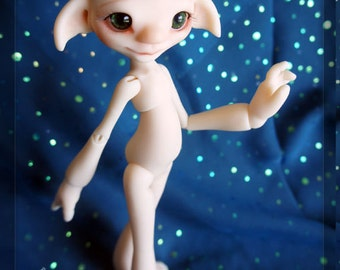 Fern fair resin - nude with face up - BJD ball joint doll - In Stock