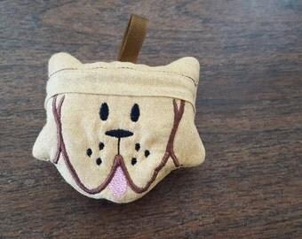 Dog Face Poopy Bag Holder