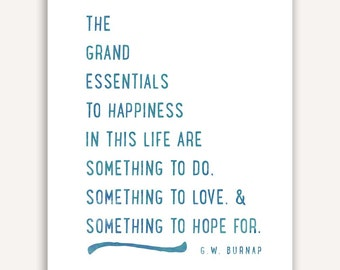 Life Quote Print, inspirational art, typography poster, words of wisdom