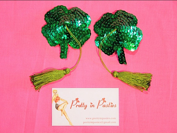 Luck of the Irish Four Leaf Clover Pasties