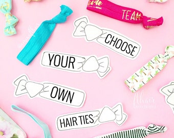 Choose your own hair ties - A la carte hair ties
