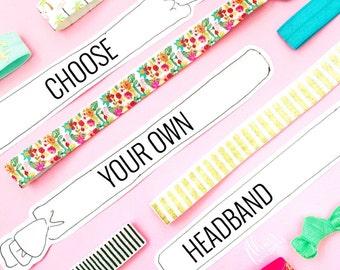 Choose your own headband - A la carte or single headband purchase