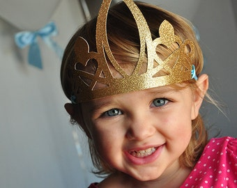 Princess Crowns for Cinderella Party Favors.  Handcrafted in 3-5 Business Days.  Party Crown.