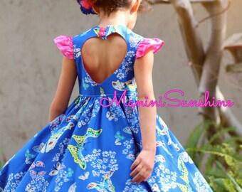 Organic Heart Cutout Dress