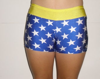 Wonder woman spandex shorts