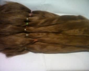 Blythe / BJD / MSD / Combed Doll Hair / Re root / Combed Suri Alpaca / Wig    (35)